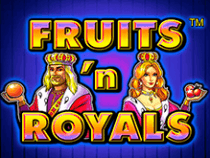 Fruits And Royals на зеркале казино